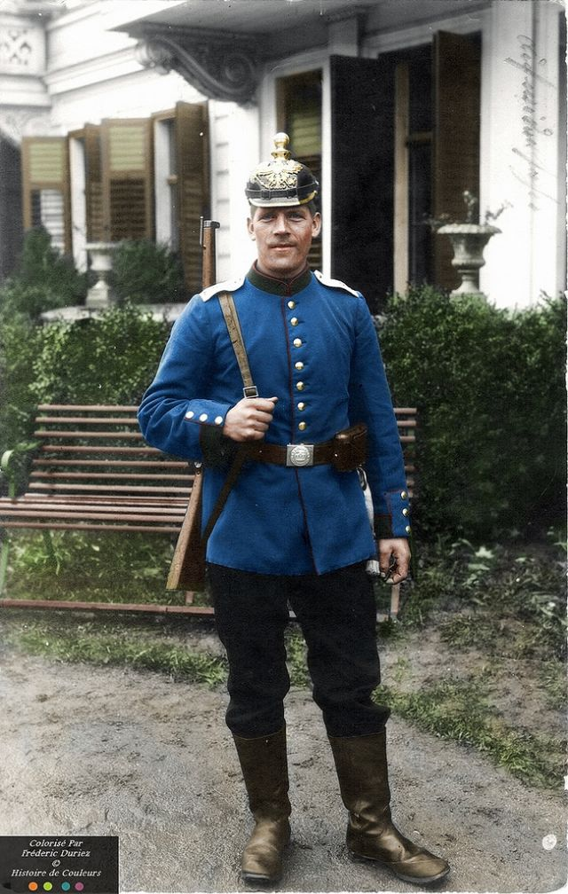 Germans During WWI Through Incredible Colorized Photos ~ vintage