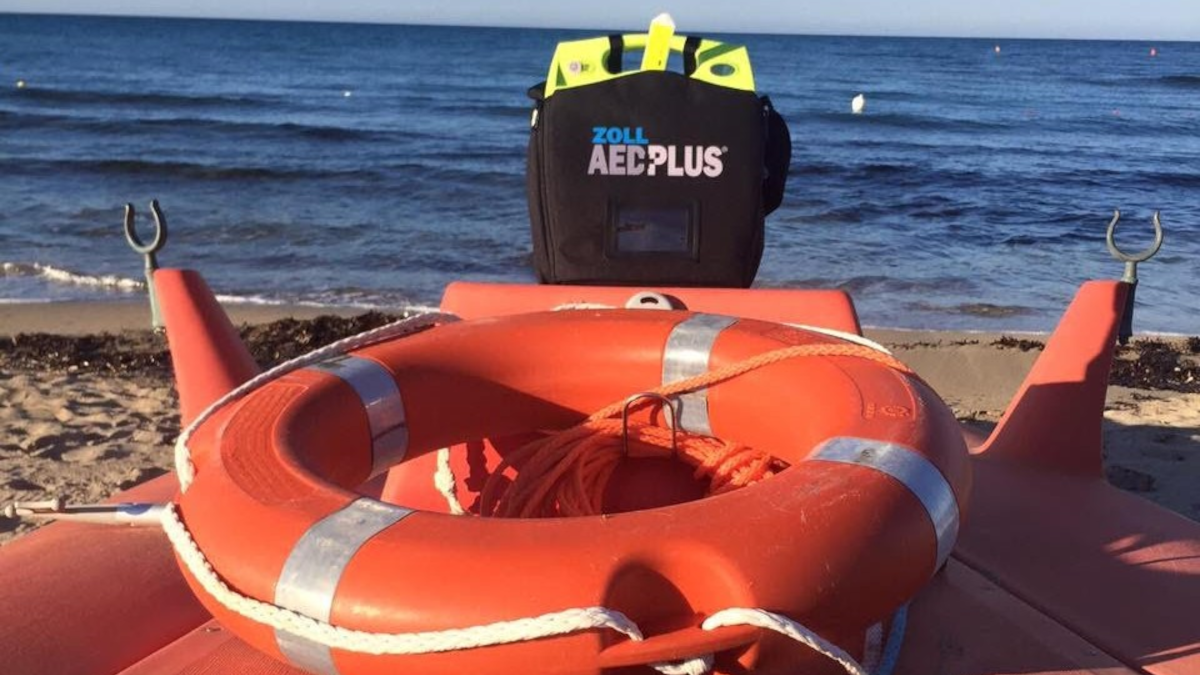 Defibrillatore Spiaggia libera N.2 Vulcano