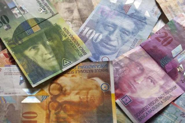 Como levar dinheiro para a Suíça