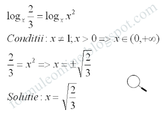 logarithmic equations example