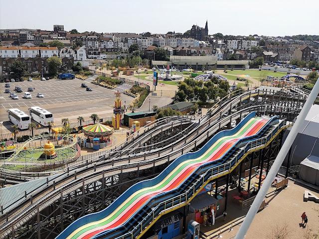 Scenic Railway and Born Slippy rides