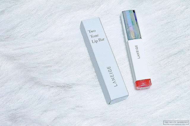 Laneige Two Tone Lip Bar in Milk Blurring (No. 4) review + swatches