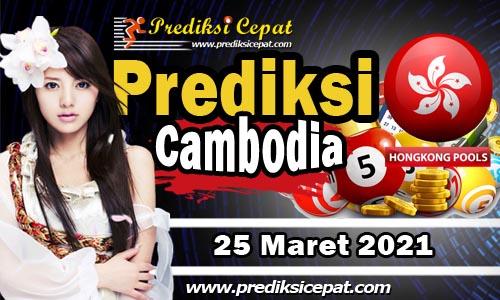 Prediksi Cambodia 25 Maret 2021
