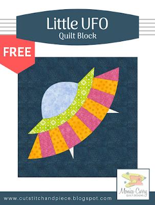 FREE - Little UFO Quilt Block Pattern