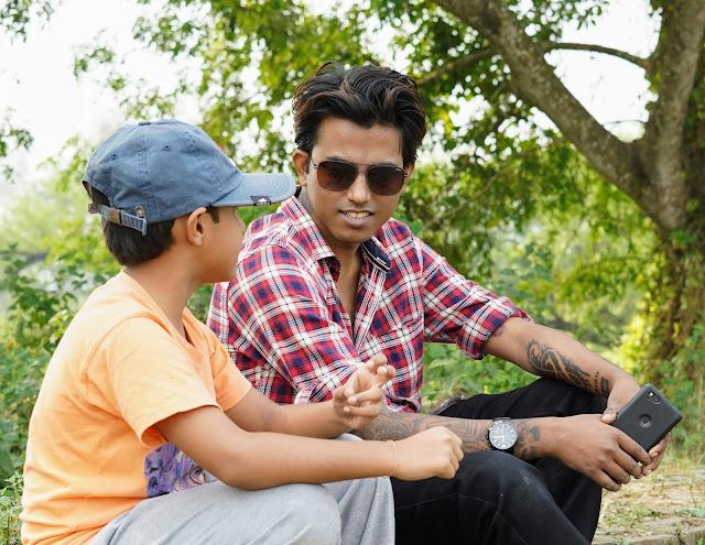 Sourajit Saha With Rick 1