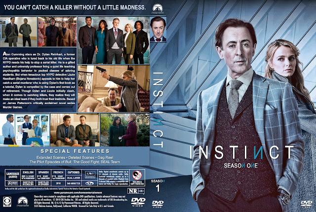 Instinct Season 1 DVD Cover
