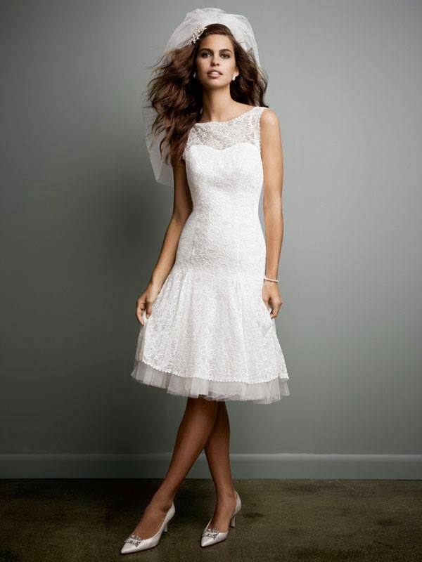 Latest Bridal Wear Gowns For Spring 2015 By David\'s Bridal | WFwomen