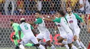 الرجاء يحقق الفوز الثاني له في دور المجموعات على نادي شبيبة القبائل في دوري أبطال أفريقيا