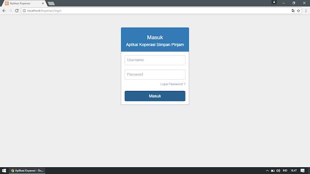 Login Multi User dengan Codeigniter dan MySQL