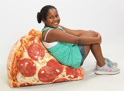 Pizza Junior Inflatable Chair