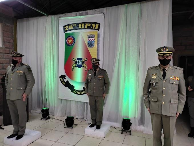 Conheça o novo comandante do 26º BPM de Cachoeirinha