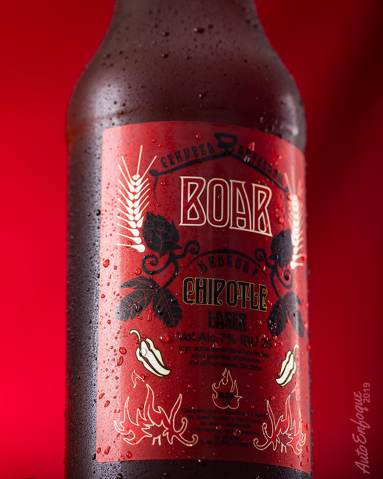 Fotografía de cervezas artesanales en Uruguay