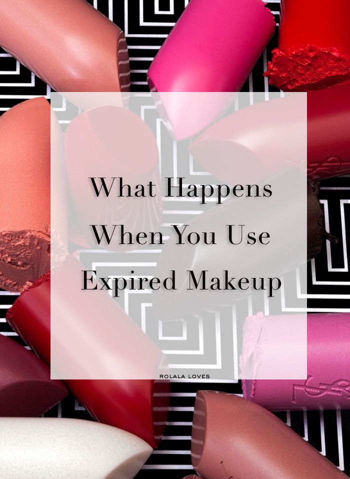 Why You Shouldn't Use Expired Makeup, Using Expired Makeup