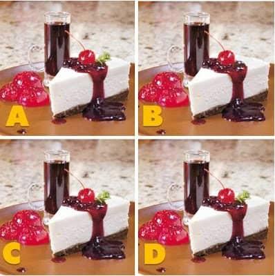 Quiz Diva Spot the Different Food Quiz Answers Score 100%