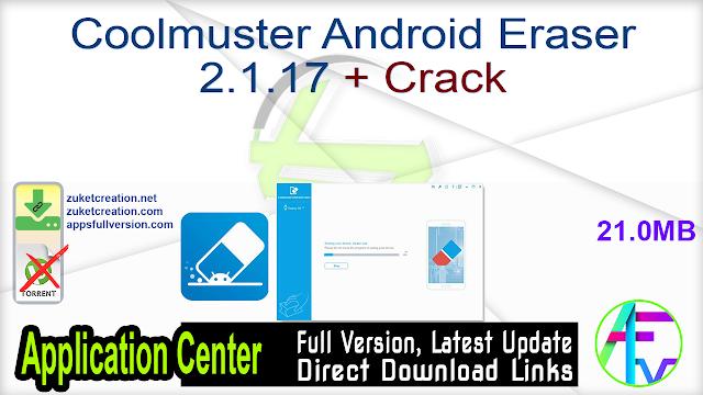 Coolmuster Android Eraser 2.1.17 + Crack