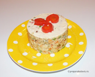 Salata de boeuf dietetica retete culinare de Craciun,