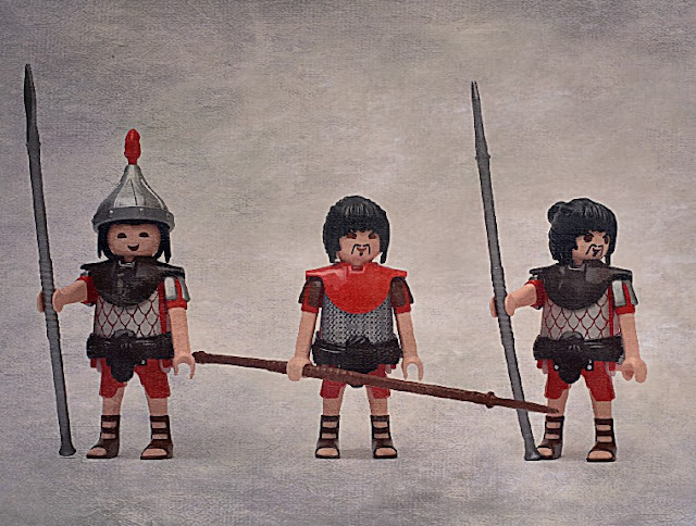 PLAYMOBIL CUSTOM CHINESE AND MONGOL WARRIORS MARCO POLO