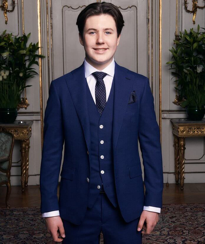 Prince Christian of Denmark was confirmed