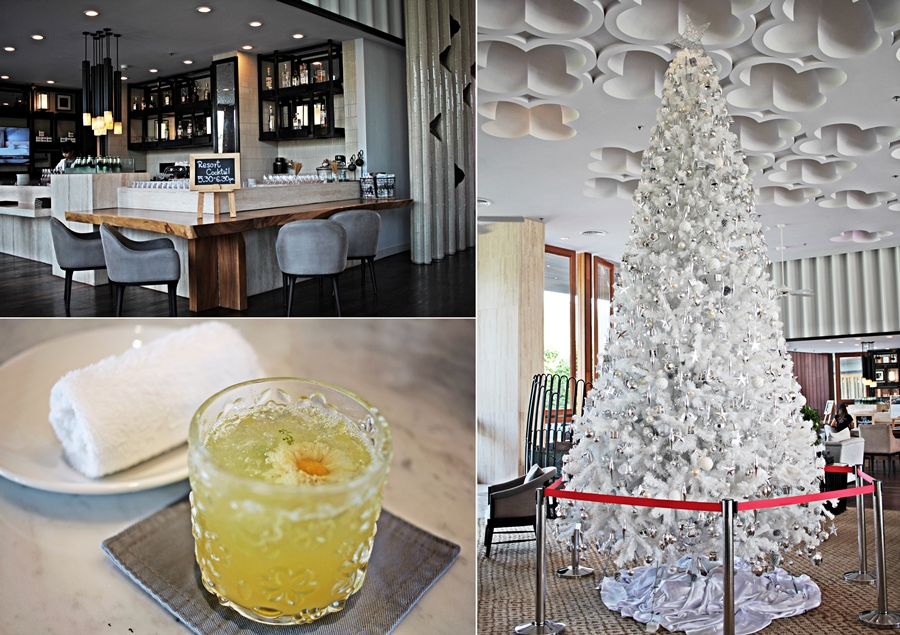 hotel weihnachten welcome drink