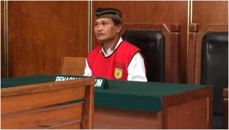 Daeng Aziz di PN Jakarta Utara