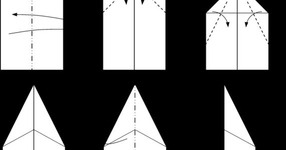 skyradar.pl: Jak zrobić samolot z papieru