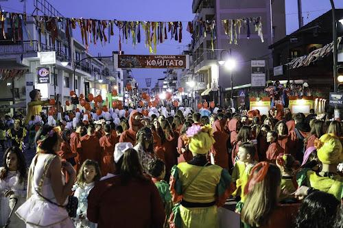 Ζωντανή Εισαγωγή του Καρναβαλιού του Καρναβαλικού Κομιτάτου Πρέβεζας