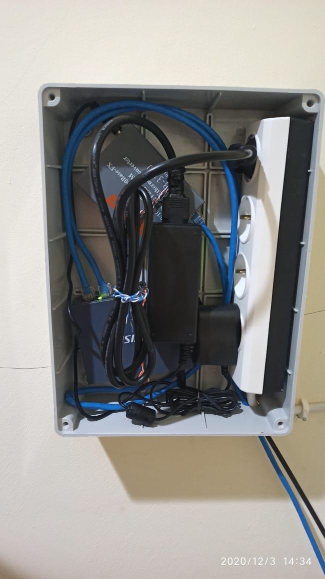 Box untuk Kabel CCTV di PT Solusi Bangun Indonesia Tbk