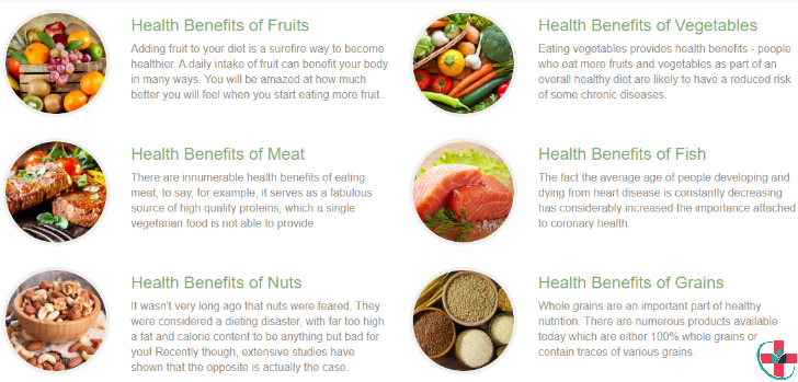 Benefits of real foods