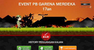Event PB Garena Evolution Indonesia Merdeka 17an 2018