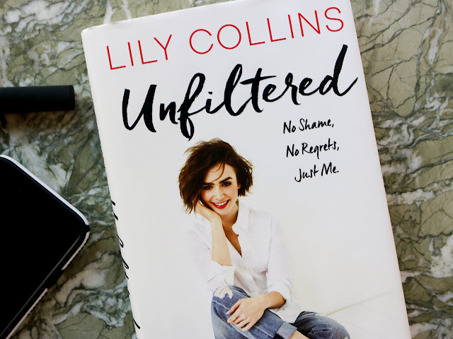Lily Collins' debut novel Unfiltered