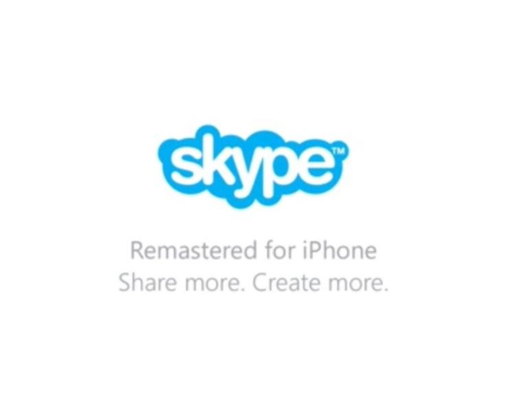 Update Skype v5.0 iOS, Bawa Perombakan Disain