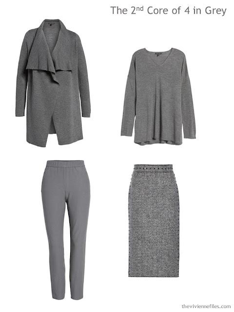 a Wardrobe Core of 4 in grey