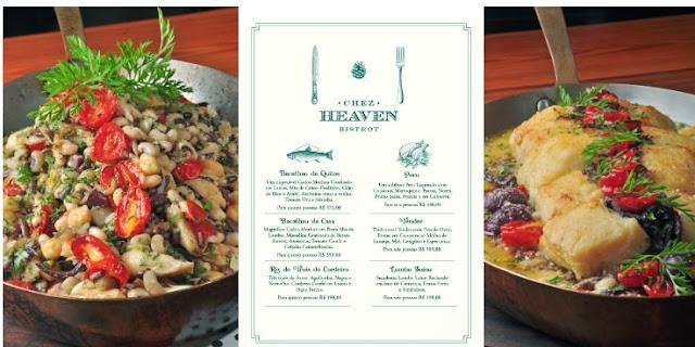 Ceia e decoração master com a chef Heaven Delhaye