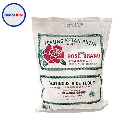 Tepung Ketan Rose Brand 500 Gram