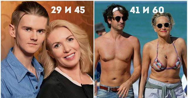 Он на 30 лет младше. Звездные женщины и их юные любовники