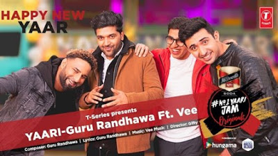 YAARI LYRICS – Guru Randhawa | Happy New Yaar