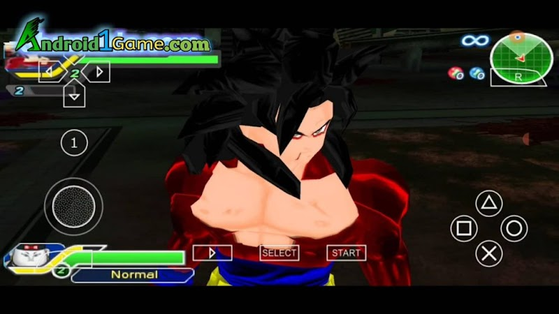 Dragon ball Z Raging Blast 2 Android PPSSPP