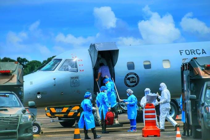 Mais 16 pacientes de Rondônia com Covid-19 são transferidos para tratamento em hospital do Rio de Janeiro