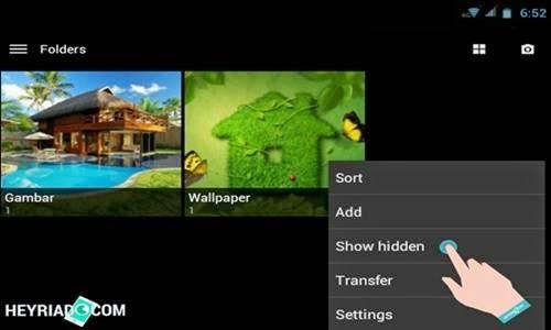 Cara Menampilkan Foto Gambar Video Yang Disembunyikan Di Android