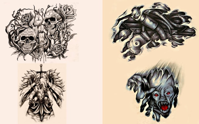 Design your tattoo customized just for you - wutang tattoo - hanuman tattoo