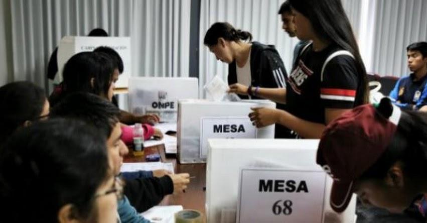 ONPE: Universidades públicas eligieron representantes estudiantiles con asistencia de la ONPE - www.onpe.gob.pe