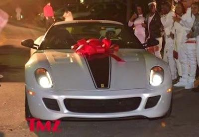 Ferrari Presente filha Lil Wayne