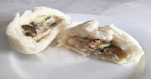 Steamed Chinese Style Chicken Buns Recipe