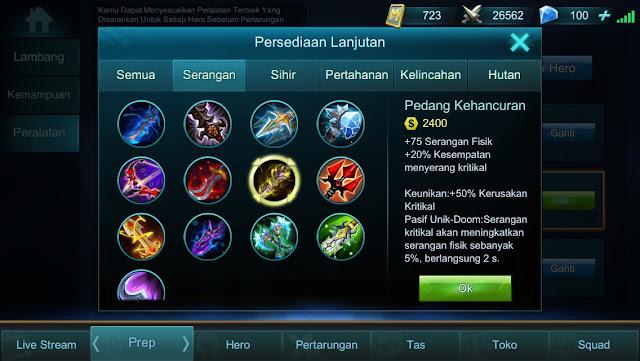 Guide Mobile Legends Indonesia : Item Moskov pembunuh sejati!