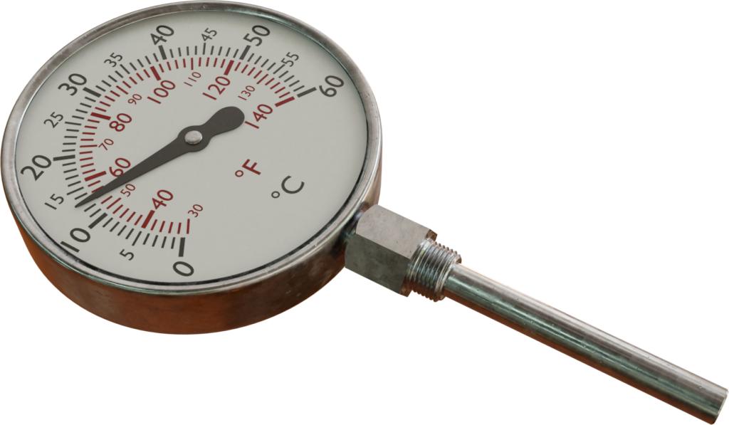 Termometer terisi gas (termometer gas-dalam-logam)
