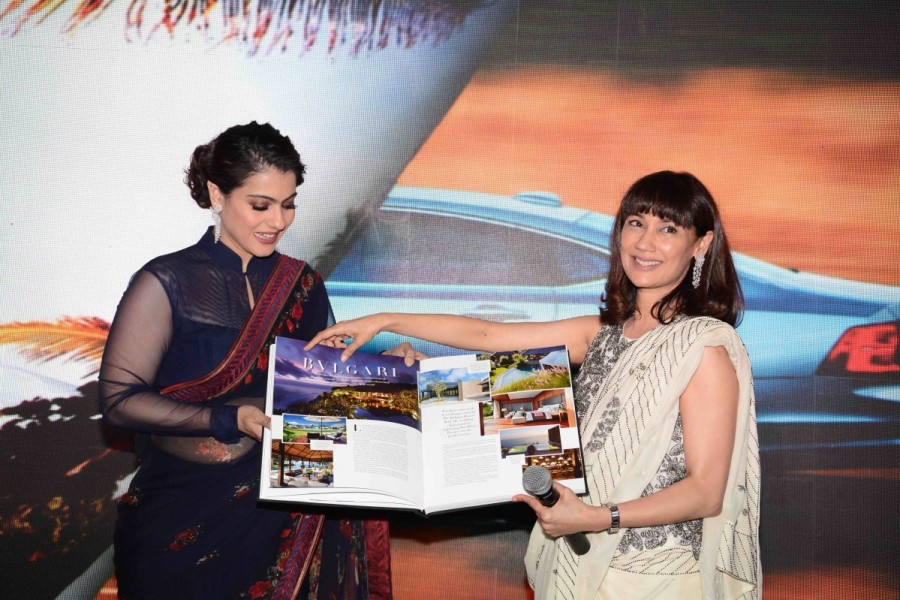 Kajol launches 'The Iconic Book' In Delhi