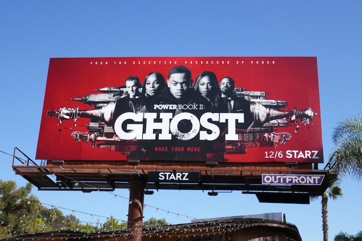 Power Ghost season 1 part 2 billboard