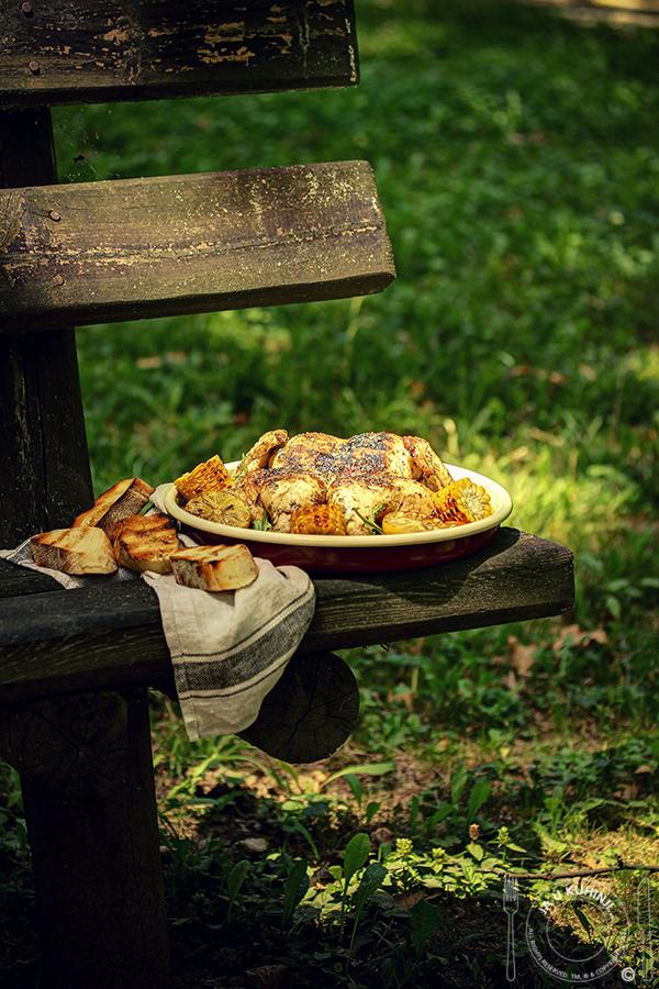 Leptir pile sa roštilja