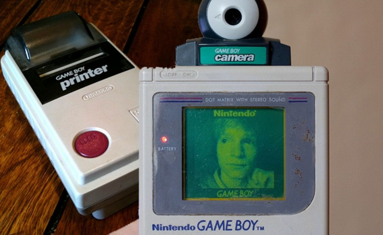 The Nintendo Game Boy Could Take Selfies printer