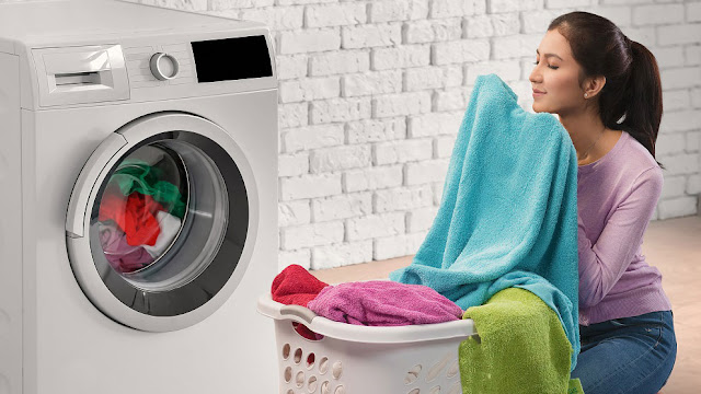 cuci pakaian kotor